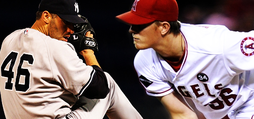 Andy Pettitte Jered Weaver