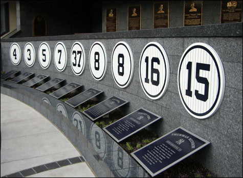 Yankees Retired Numbers And The Future Zell S Pinstriped